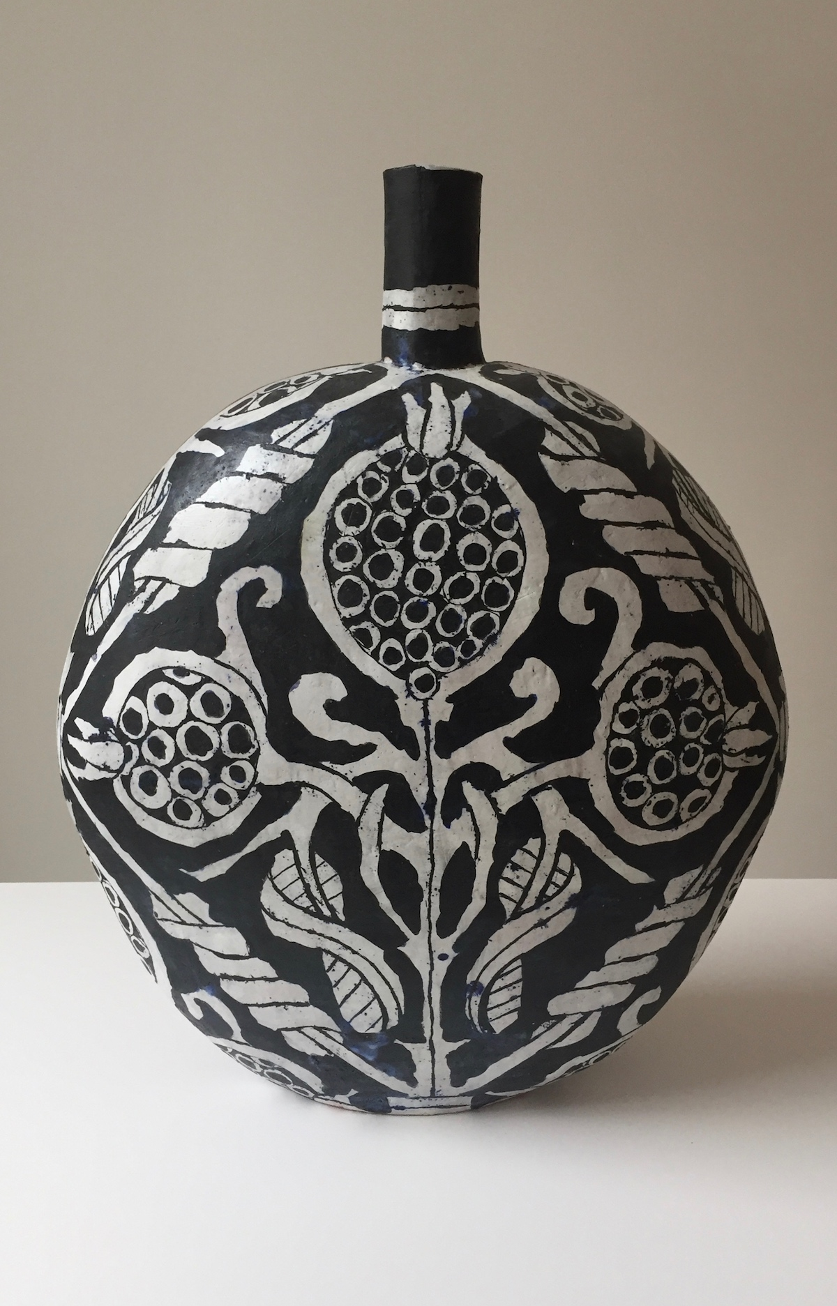 Large Pineapple Flask, 2016