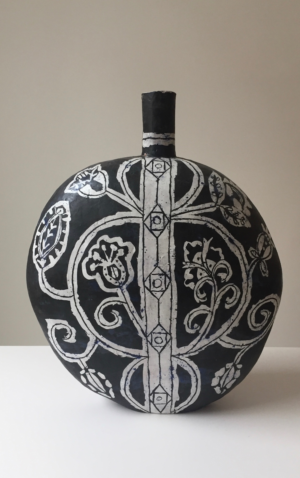 Large Flask with Stripe, 2016
