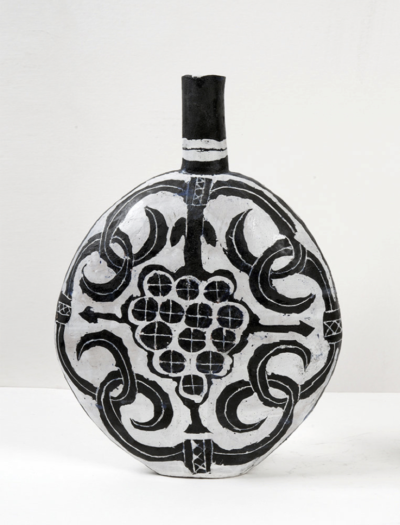 Flask with Grapes, 2016