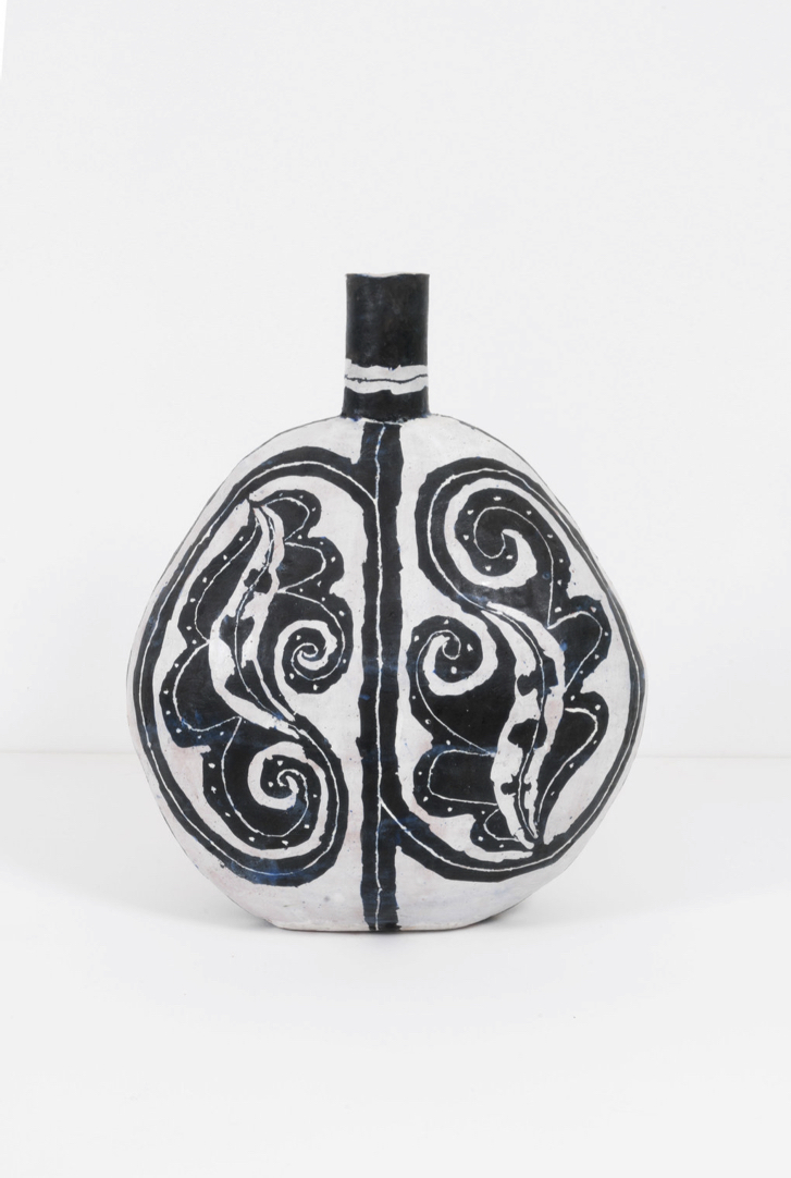 Flask with Up and Down Leaves, 2017