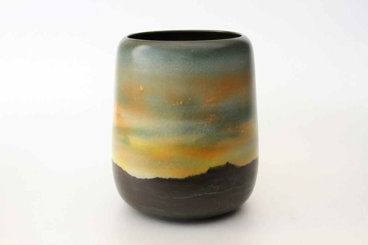 Vase aube crépuscule (AC02), 2016