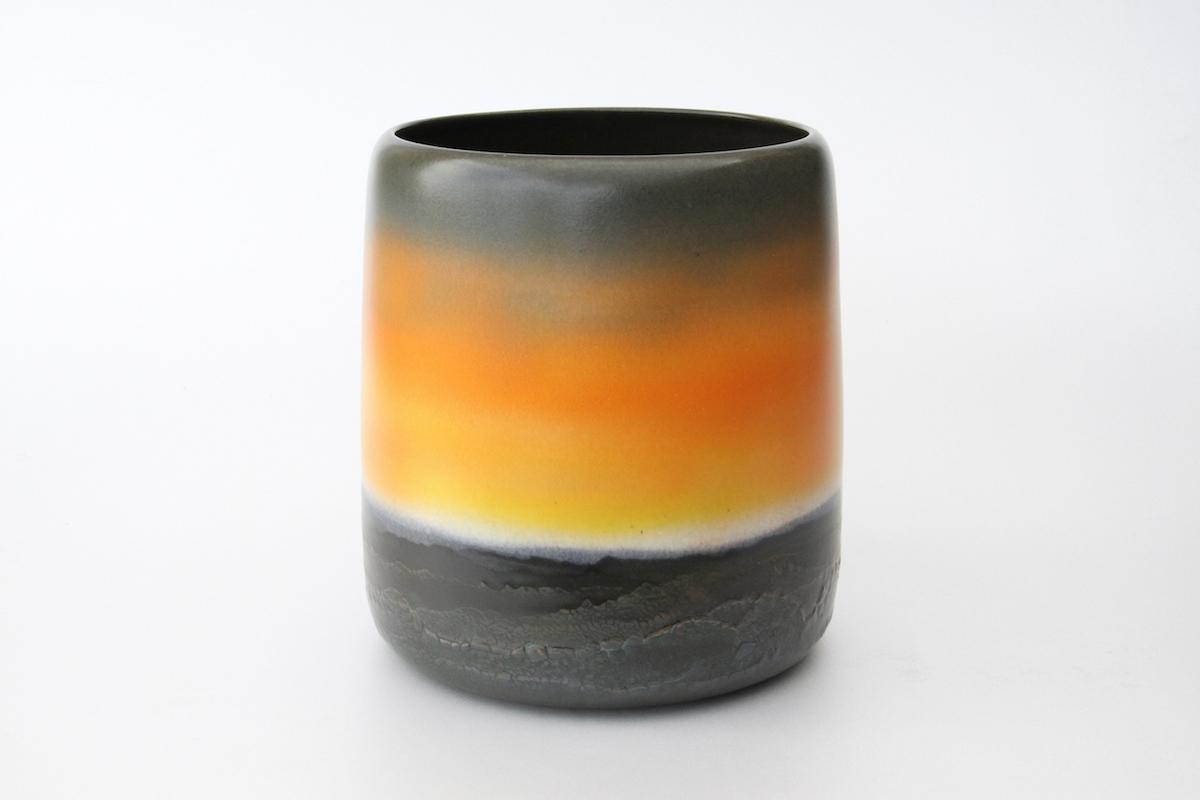 Vase aube crépuscule (AC03), 2016