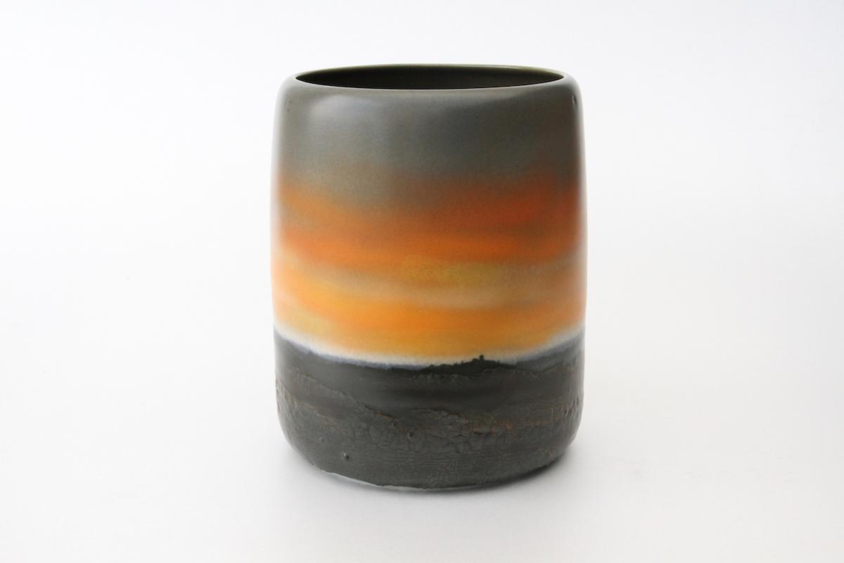 Vase aube crépuscule (AC04), 2016