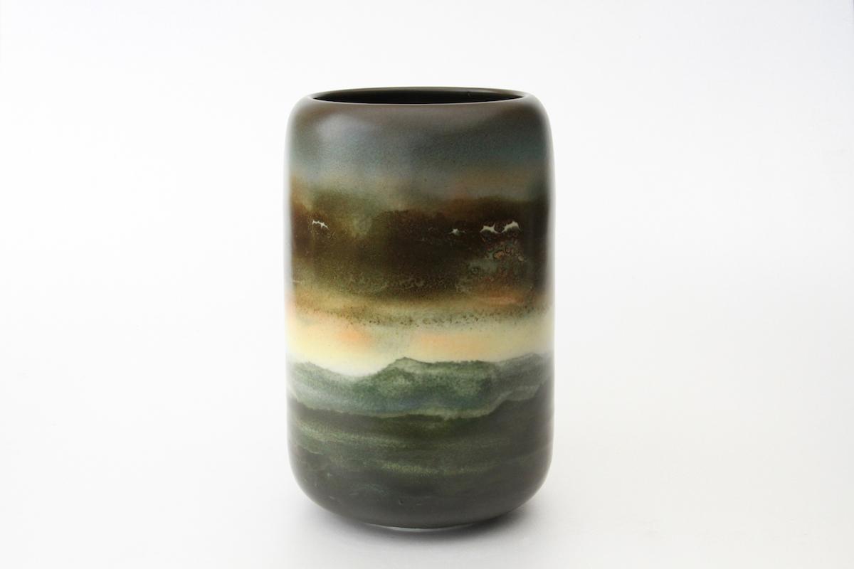Vase aube crépuscule (AC05), 2016