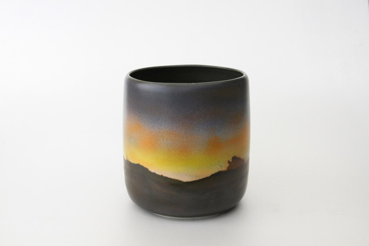 Vase aube crépuscule (AC06), 2016