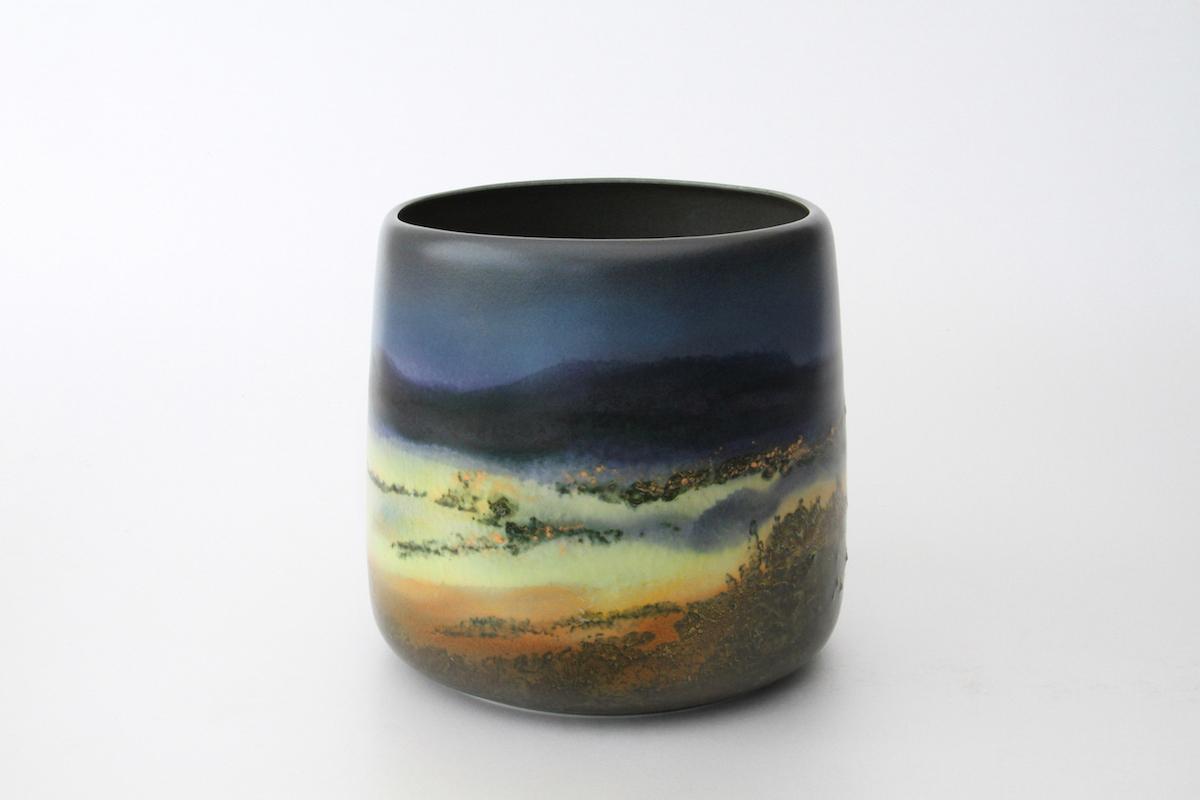 Vase aube crépuscule, 2016