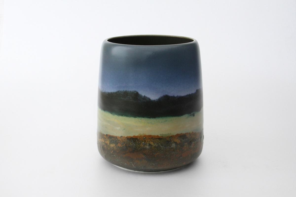 Vase aube et crépuscule (AC11), 2016