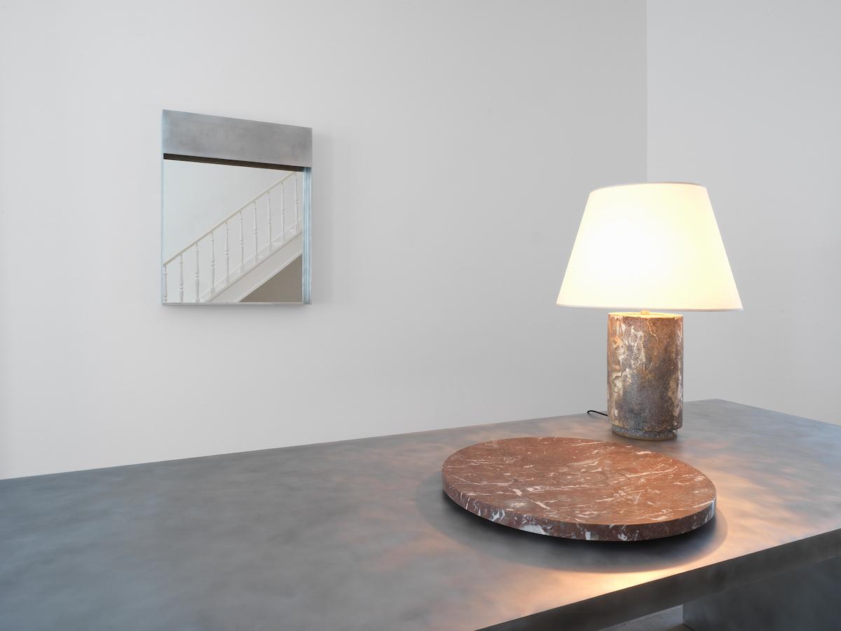 Backstage L (mirror), Trebord Table, Segment 60 (Plate), Panser Brut (Lamp)