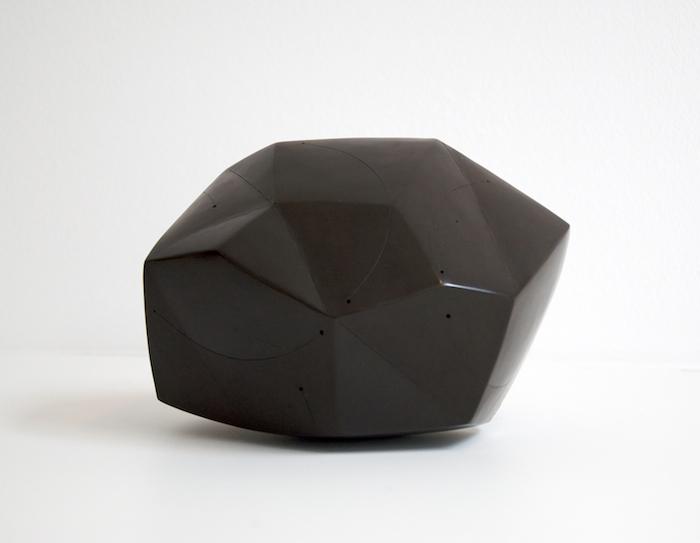 Polyèdre Etoilé Bi Color Noir, 2011